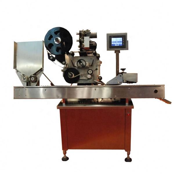 کاسمیٹک کے لپ اسٹکس کے لئے 10-50 ملی لٹر راؤنڈ بوتل شیشی لیبلنگ مشین