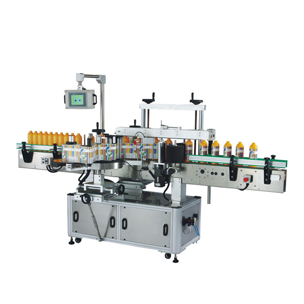 PLC اور ٹچ اسکرین کے ساتھ اوڈم پلاسٹک کی بوتل لیبلنگ مشین