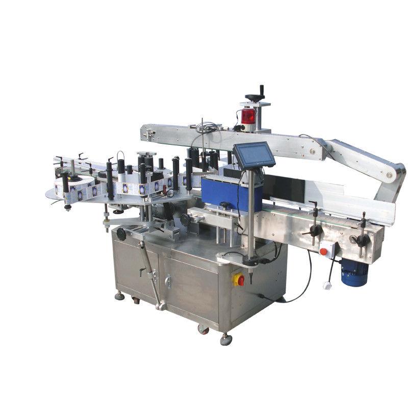 بیوریج ، فوڈ ، کیمیکل کے لئے گول بوتلیں ڈبل سائیڈ اسٹیکر لیبلنگ مشین