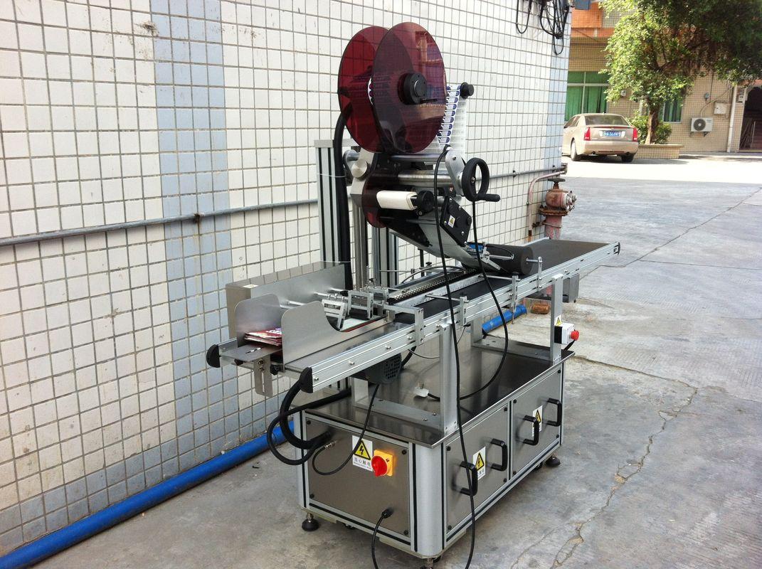 الیکٹرک ڈرائیو ٹاپ لیبلنگ مشین ، سیلف چپکنے والی اسٹیکر لیبلنگ مشین