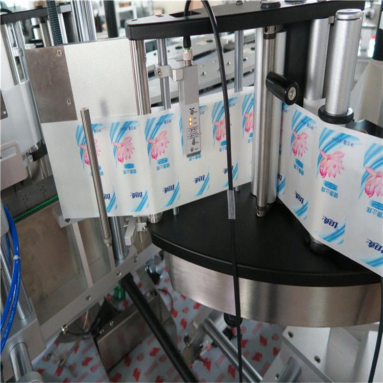 خودکار سنگل / ڈبل سائیڈ مسدس راؤنڈ بوتل اسٹیکر لیبلنگ مشین