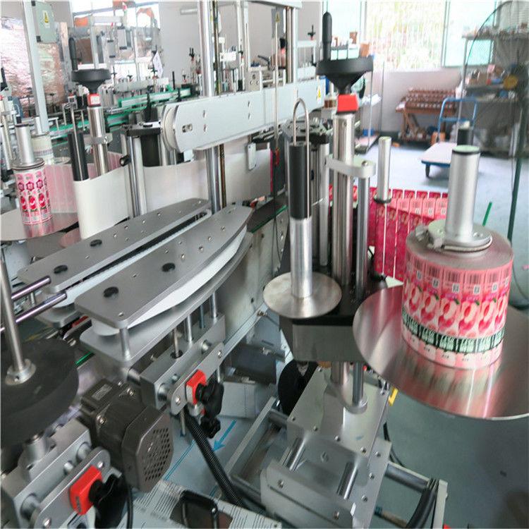 فرنٹ بیک آٹومیٹک اسٹیکر لیبلنگ مشین سیل چپکنے والی 330 ملی میٹر زیادہ سے زیادہ بیرونی قطر