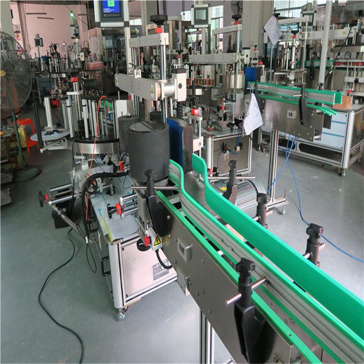 ڈبل سائیڈ سیلف چپکنے والی اسٹیکر بوتل لیبلنگ مشین 190 ملی میٹر اونچائی زیادہ سے زیادہ