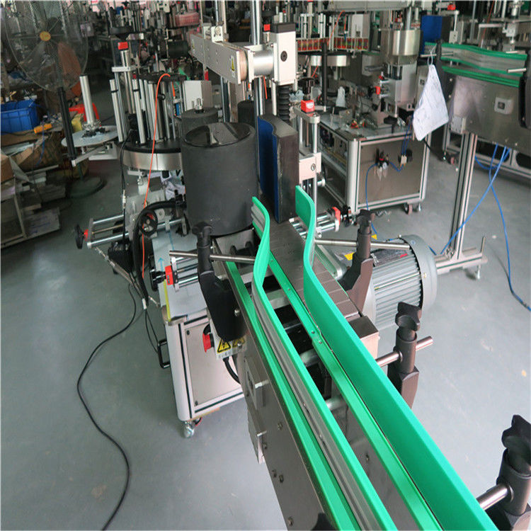 دو خودکار اسٹیکر لیبلنگ مشین دوہری رخا لیبلر 6000-8000 بی / ایچ