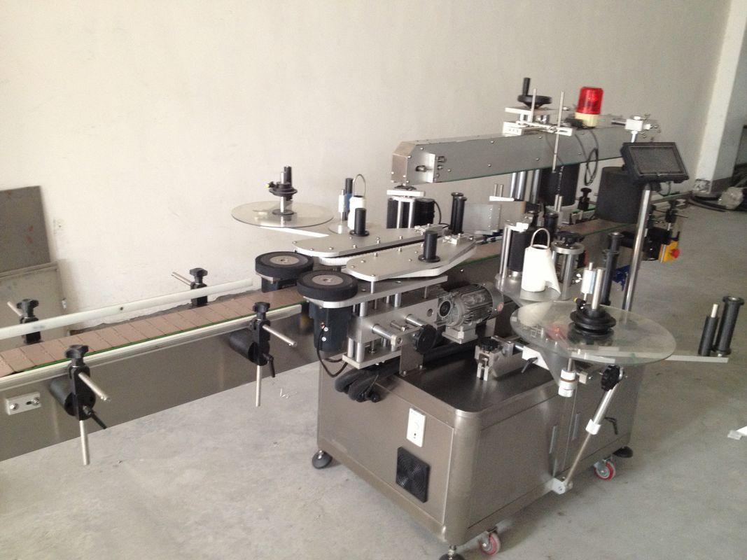 خودکار بیئر کی بوتل ڈبل سائڈ اسٹیکر لیبلنگ مشین
