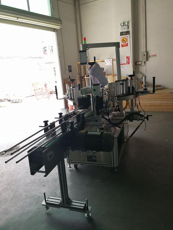 اوول / آئتاکار / اسکوائر بوتل پر اسٹیکر فرنٹ اور بیک لیبلنگ مشین