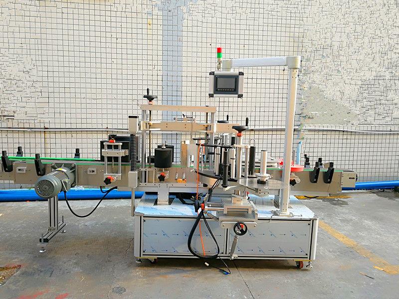ڈبل سائیڈ کے ساتھ سادہ آٹومیٹک فرنٹ اور بیک لیبلنگ مشین